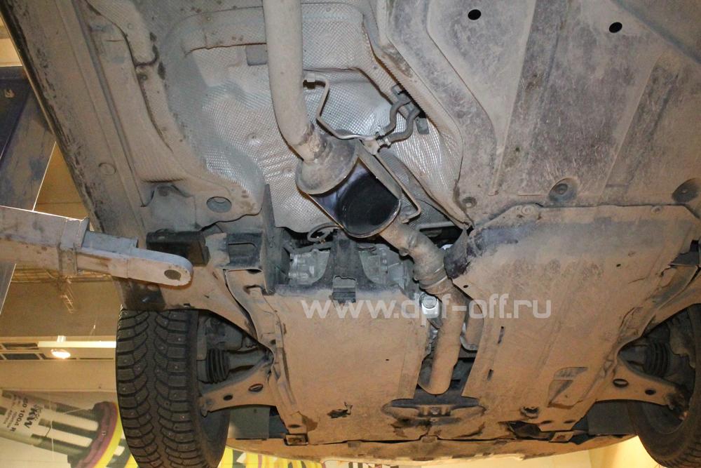 Удаление сажевого фильтра на Mercedes-Benz B180 CDI / Мерседес-Бенц Б180 дизель