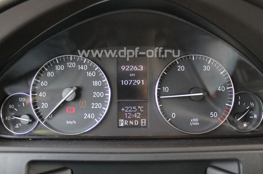 Удаление сажевого фильтра на Mercedes-Benz G350 CDI / Мерседес-Бенц Г350 дизель