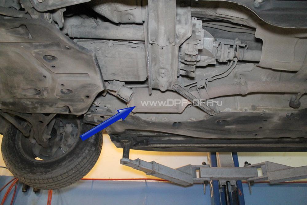 Удаление сажевого фильтра на Mercedes-Benz GL 320 CDI / Мерседес-Бенц ГЛ320 дизель