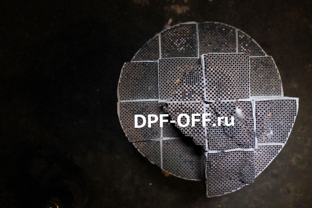 Удаление сажевого фильтра на Mercedes Benz ML350cdi / Мерседес МЛ350 дизель