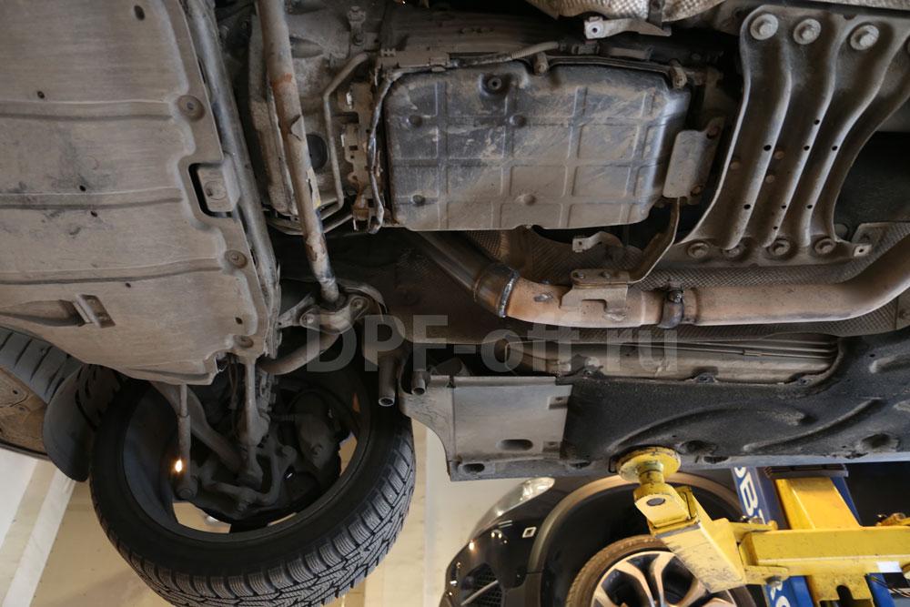 Удаление сажевого фильтра на Mercedes-Benz S320 CDI / Мерседес s320 cdi