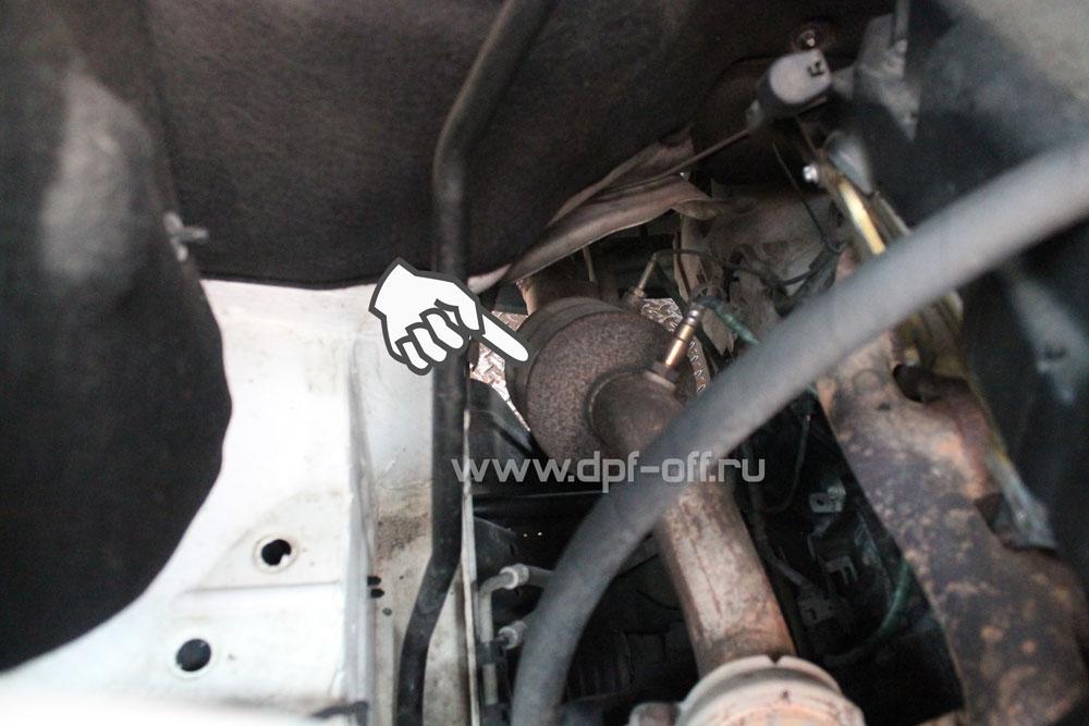 Удаление сажевого фильтра на Mercedes-Benz Sprinter 2.2 CDI 315 / Мерседес-Бенц Спринтер 2.2 дизель 315