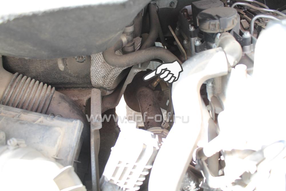 Удаление сажевого фильтра на Mercedes-Benz Sprinter Classic 2.2 CDI / Мерседес-Бенц Спринтер Классик 2.2 дизель