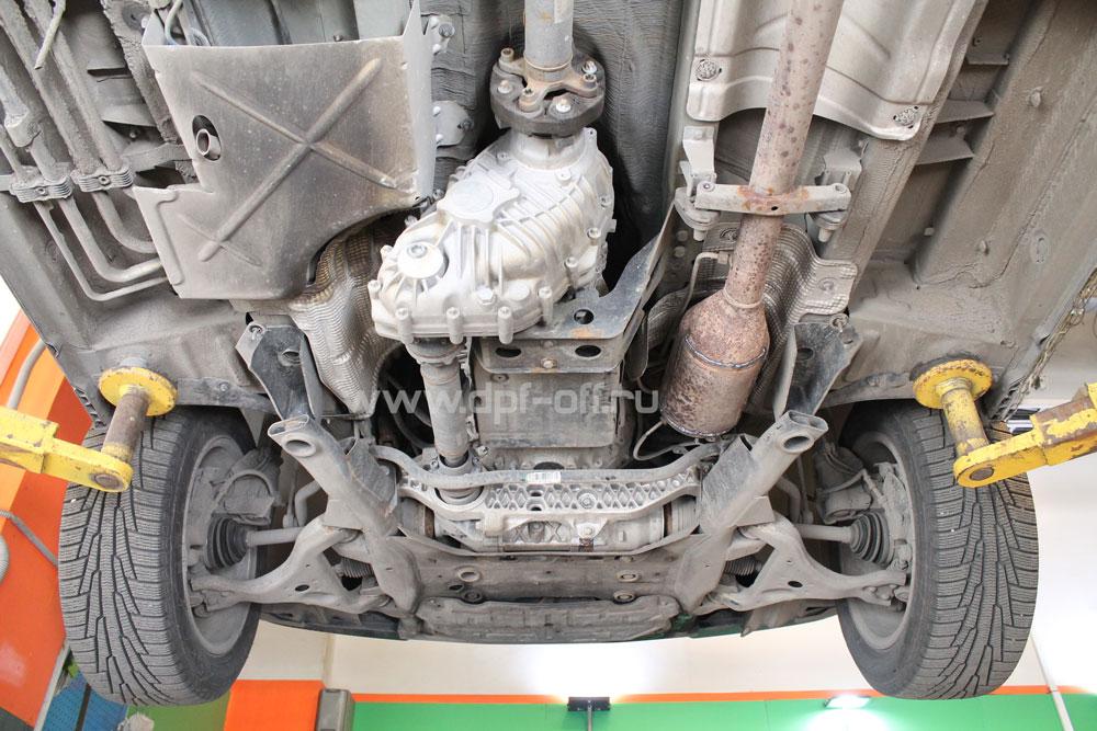 Удаление сажевого фильтра на Mercedes-Benz Viano 2.2 CDI / Мерседе-Бенц Виано 2.2 дизель