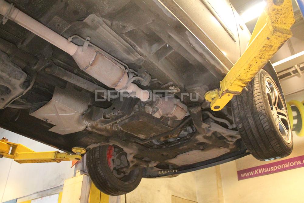 Удаление сажевого фильтра на Mercedes-Benz Viano 3.0 CDI / Мерседе-Бенц Виано 3.0 дизель