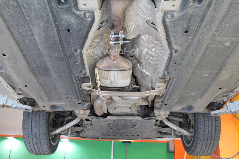 Удаление сажевого фильтра на Audi A6 Allroad 3.0 TDI / Ауди А6 Олроуд 3.0 дизель