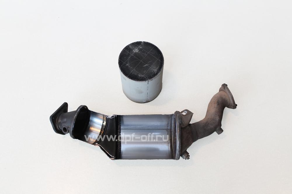 Удаление сажевого фильтра на Audi Q5 2.0 TDI / Ауди Ку5 2.0 дизель