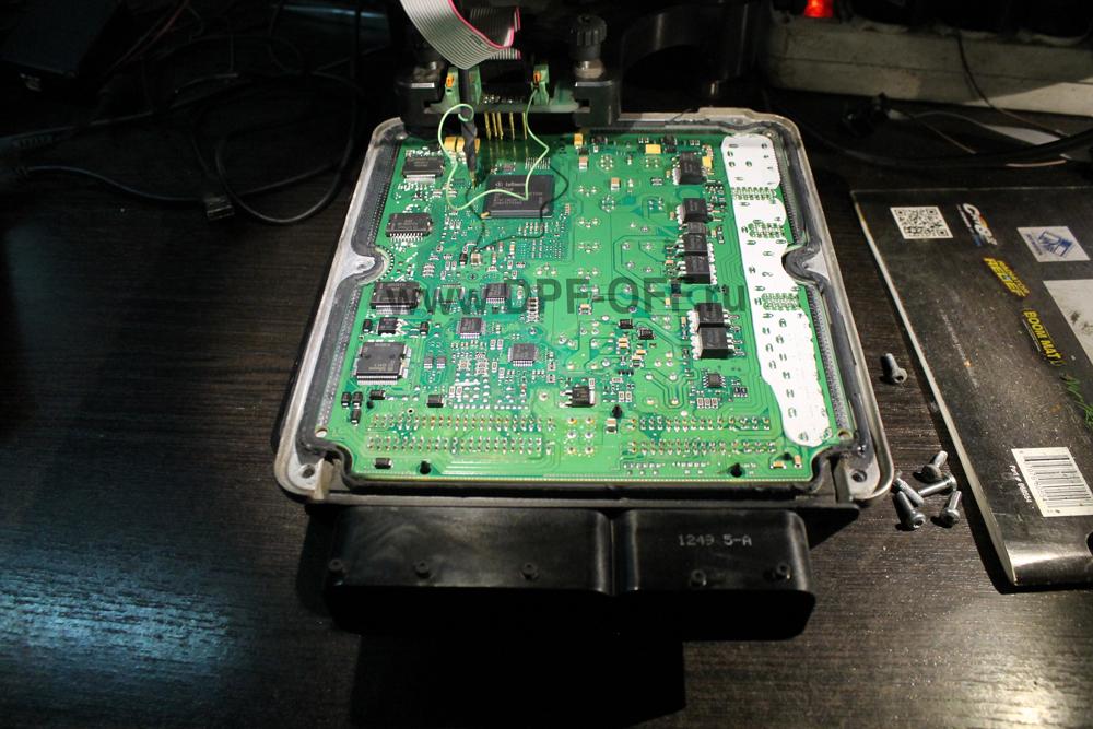 Удаление сажевого фильтра на Audi Q7 3.0 TDI / Ауди КУ7 3.0 дизель