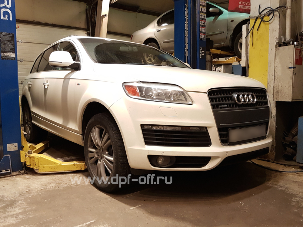 Удаление сажевого фильтра и отключение AdBlue на Audi Q7 3.0 TDI