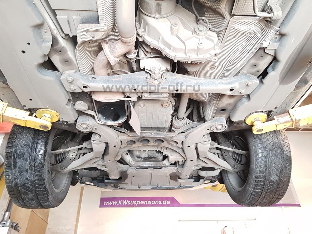 Удаление сажевого фильтра и отключение adblue на Audi Q7 3.0 TDI / Ауди Q7 3.0 дизель