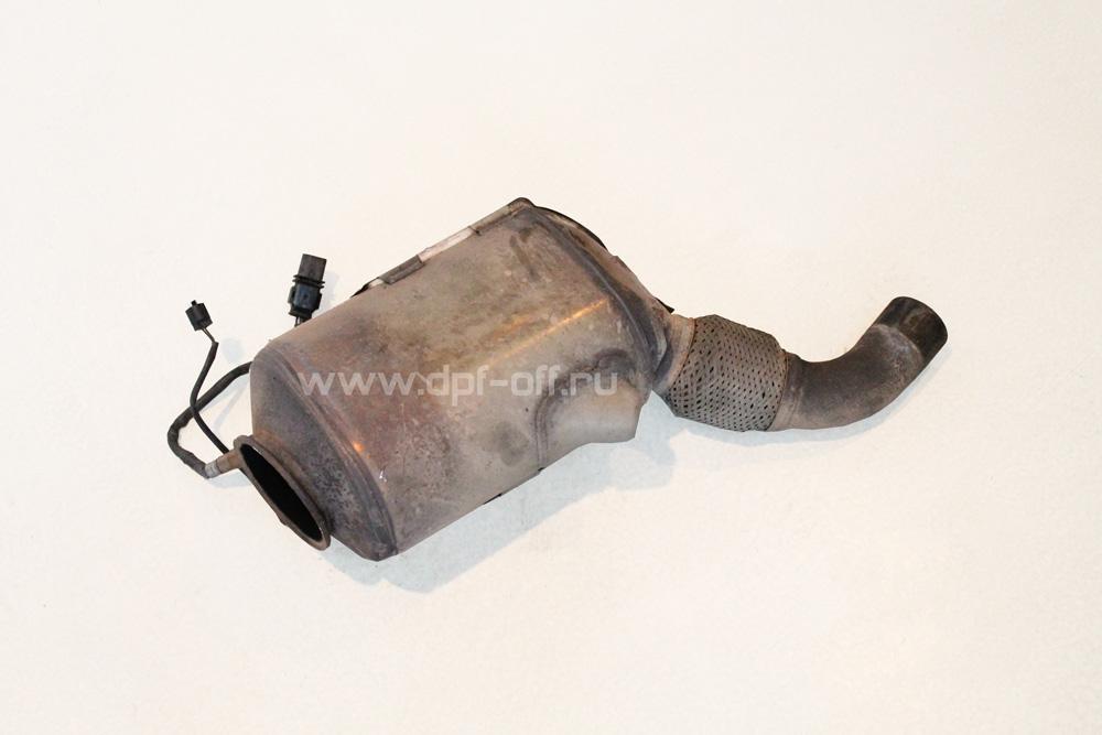 Удаление сажевого фильтра на BMW 525d (E60) / БМВ 525 дизель Е60