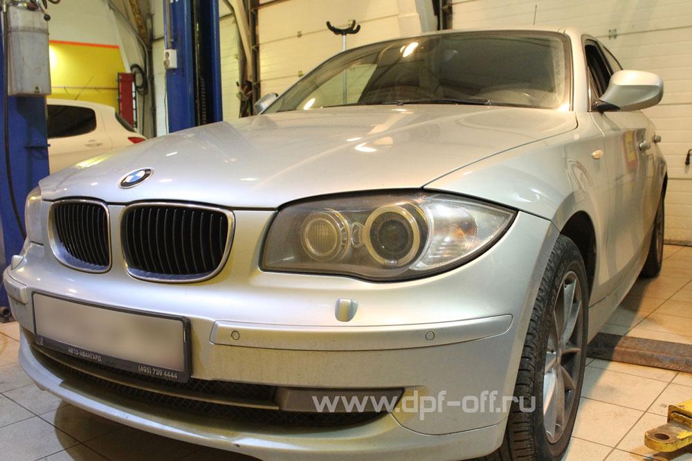 Удаление сажевого фильтра на BMW 120d (E87)