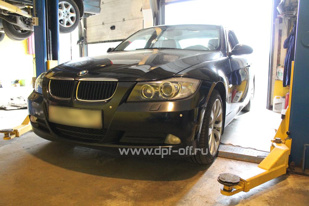 Удаление сажевого фильтра на BMW 320d (E90)