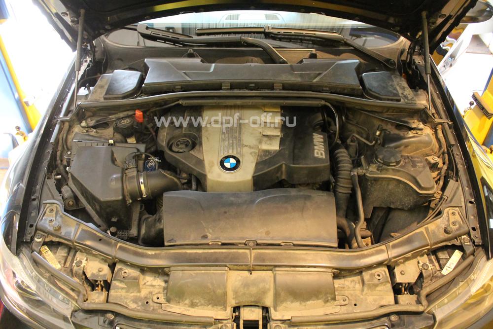 Удаление сажевого фильтра на BMW 320d E90 / БМВ 320 дизель Е90
