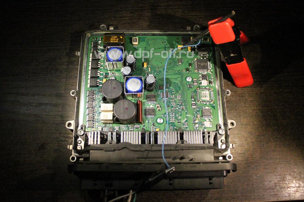 Удаление сажевого фильтра на BMW 730d F01 / БМВ 730 дизель