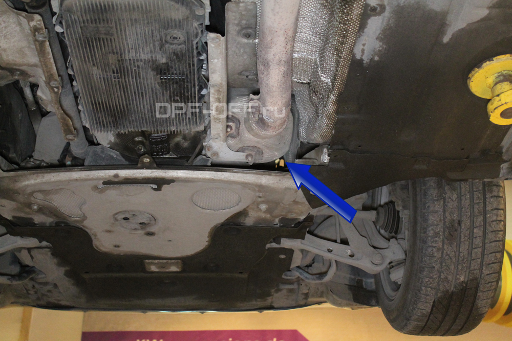 Удаление сажевого фильтра на BMW 525d F10 / БМВ 525 дизель