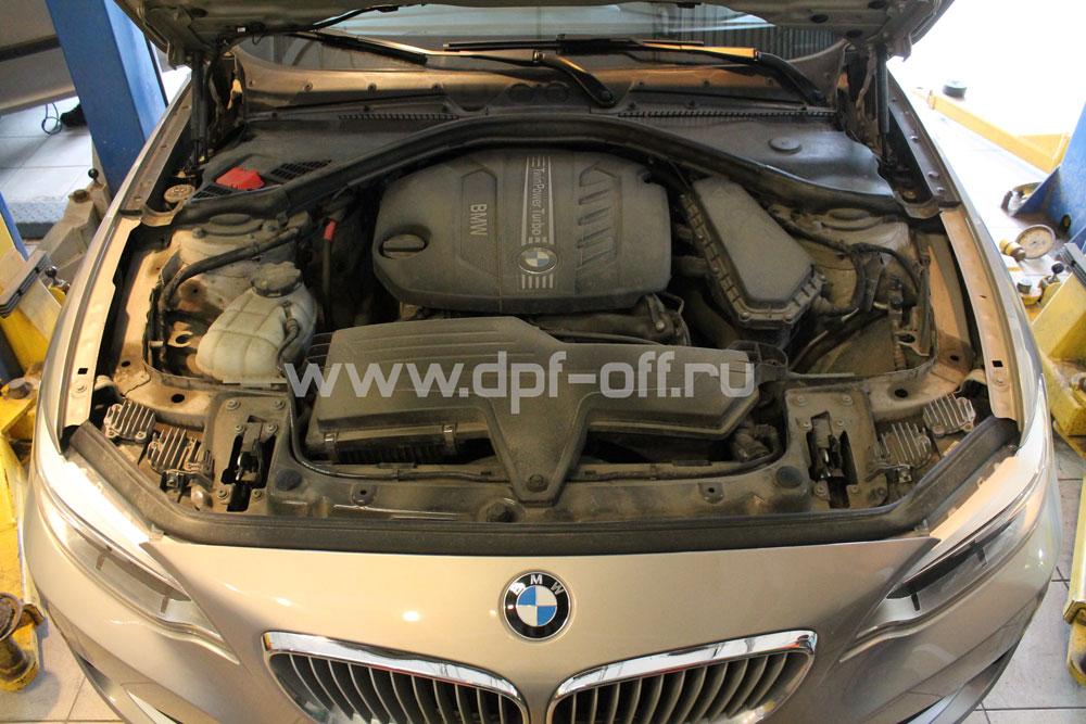 Удаление сажевого фильтра на BMW 220d f22 / БМВ 220 дизель ф22