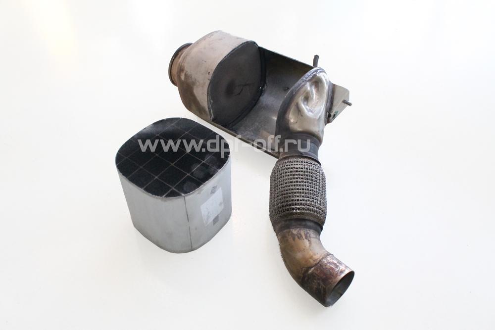 Удаление сажевого фильтра на BMW X3 30d F25 / БМВ Х3 Ф25 3.0 дизель