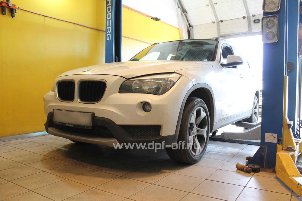 Удаление сажевого фильтра на BMW X1 20d (E84)