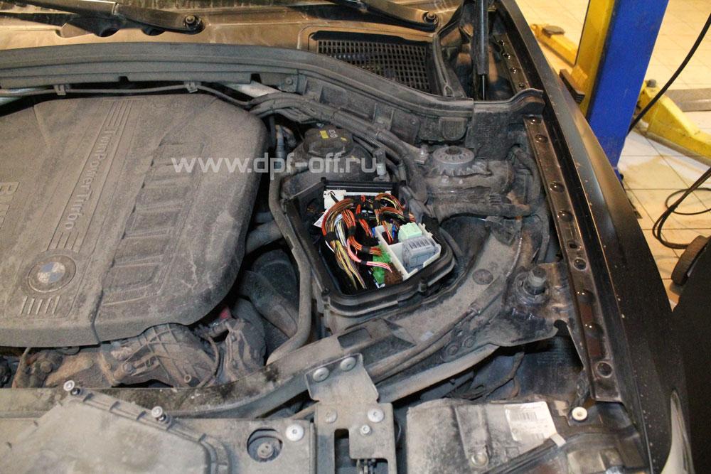 Удаление сажевого фильтра на BMW X4 35d (F26) / БМВ Х4 35д ф26