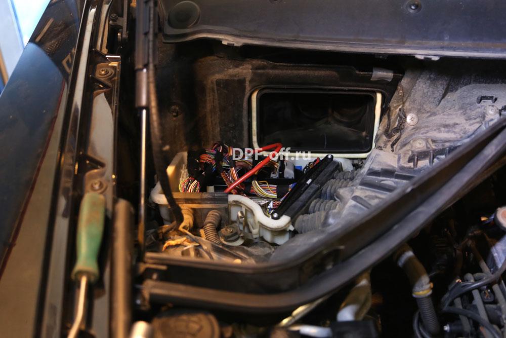 Удаление сажевого фильтра на BMW X5 40d / БМВ х5 40д