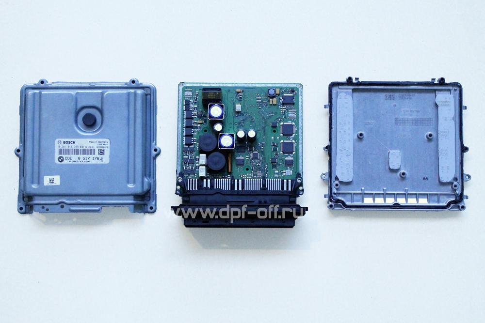 Удаление сажевого фильтра на BMW X5 50d E70 / БМВ Х5 Е70 50д