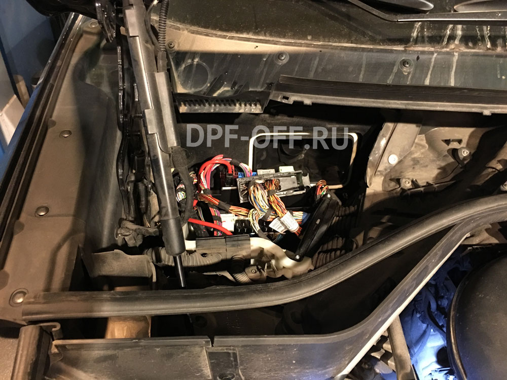 Удаление сажевого фильтра и ЕГР на BMW X5 30d F15 / БМВ Х5 30д Ф15