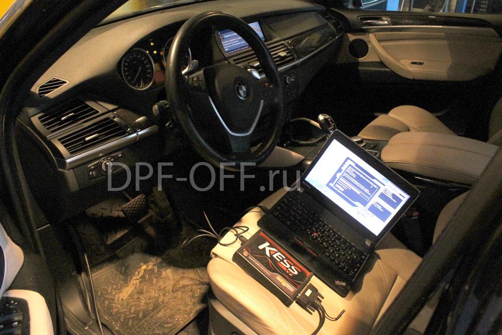 Удаление сажевого фильтра на BMW X6 35d / бмв 35д
