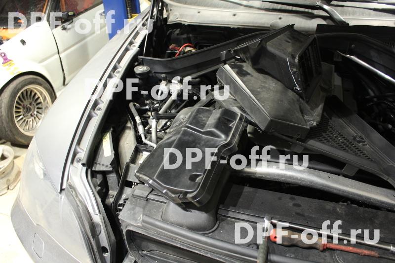 Программное отключение сажевого фильтра BMW X5 30d (E70)