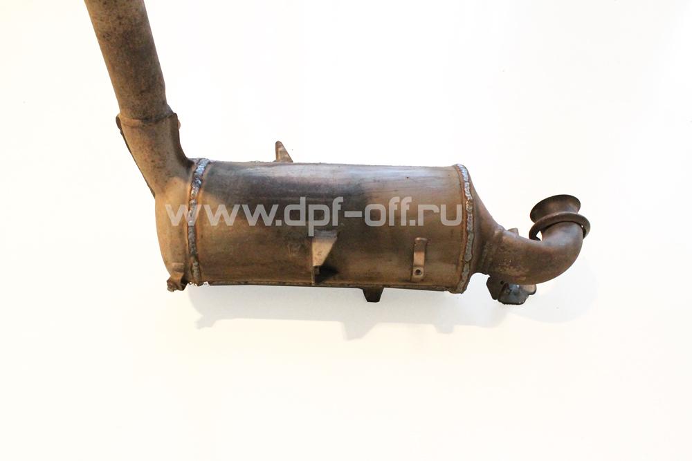 Удаление сажевого фильтра на Ford Focus 2 - 1.6 TDCI / Форд Фокус 2 - 1,6 дизель
