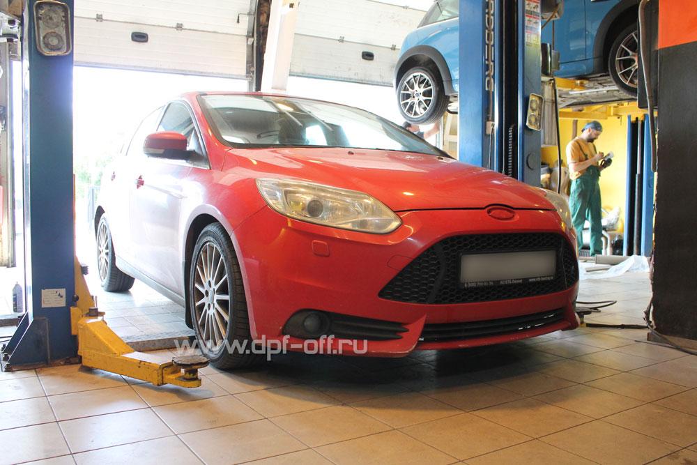 Удаление сажевого фильтра на Ford Focus 3 рестайлинг 2.0 TDCi