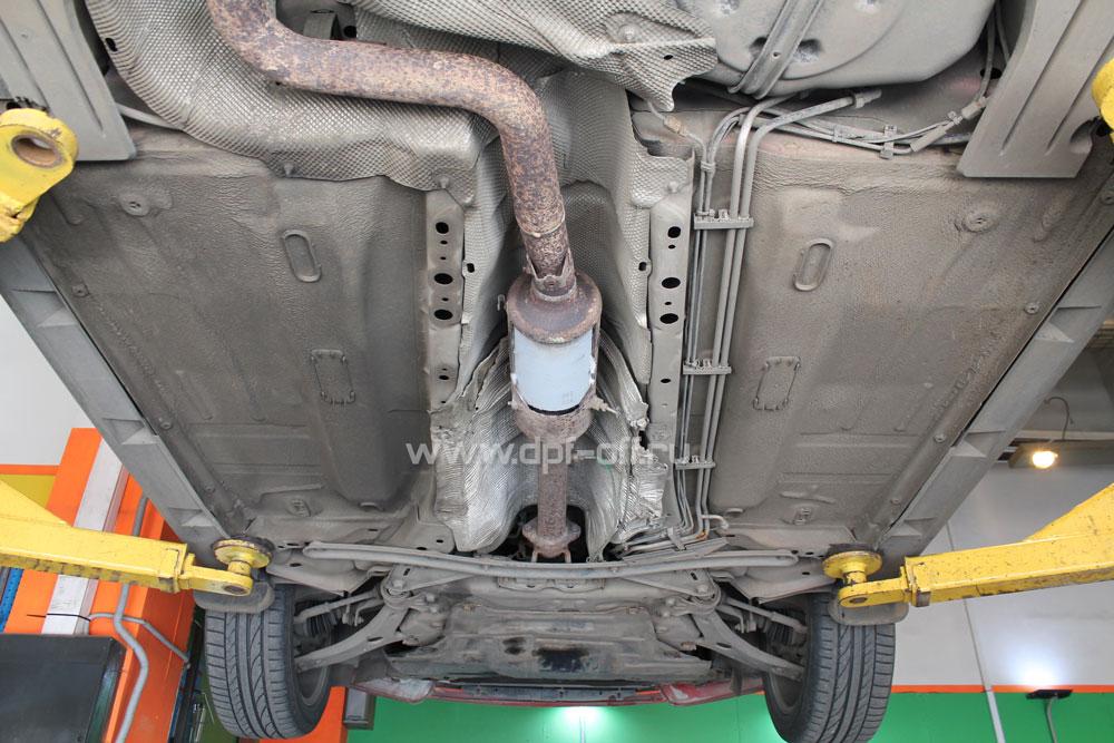 Удаление сажевого фильтра на Ford Focus 3 рестайлинг 2.0 TDCi / Форд Фокус 3 рестайлинг 2.0 дизель
