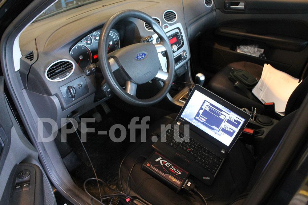 Отключение егр на на Ford Focus 2 1.8 tdci / форд фокус 2 1.8 дизель