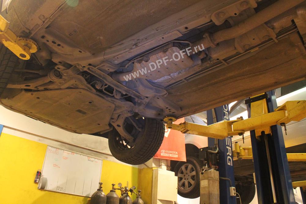 Удаление сажевого фильтра на Ford Kuga 2.0d / Форд Куга 2.0 дизельь