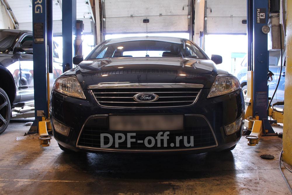 Удаление сажевого фильтра на Ford Mondeo (IV) 2.0d 140 л.с.