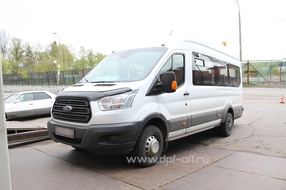 Удаление сажевого фильтра на Ford Transit 2.2 new