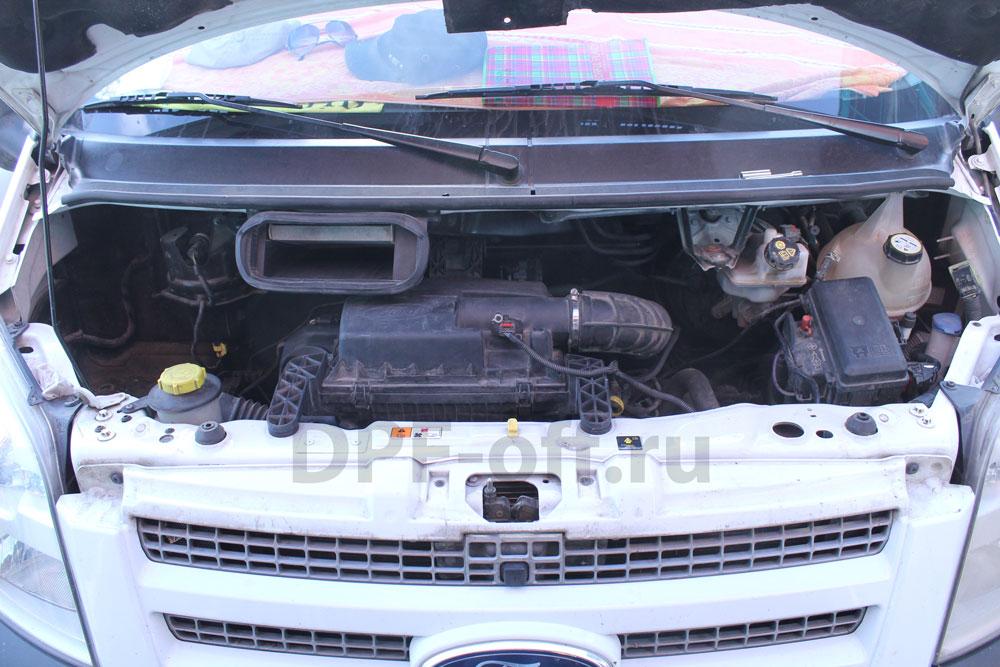 Отключение сажевого фильтра на Ford Trasit 2.2 TDCI / Форд Транзин 2.2 дизель