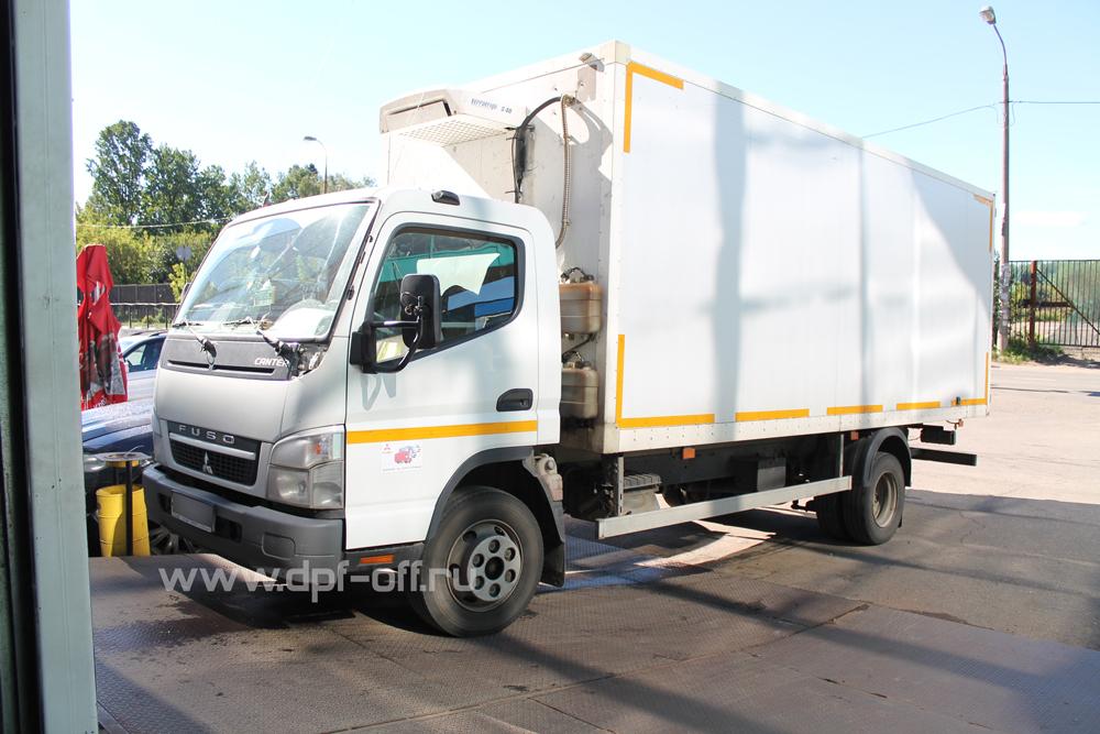 Удаление сажевого фильтра на Mitsubishi Fuso Canter 5.0 дизель