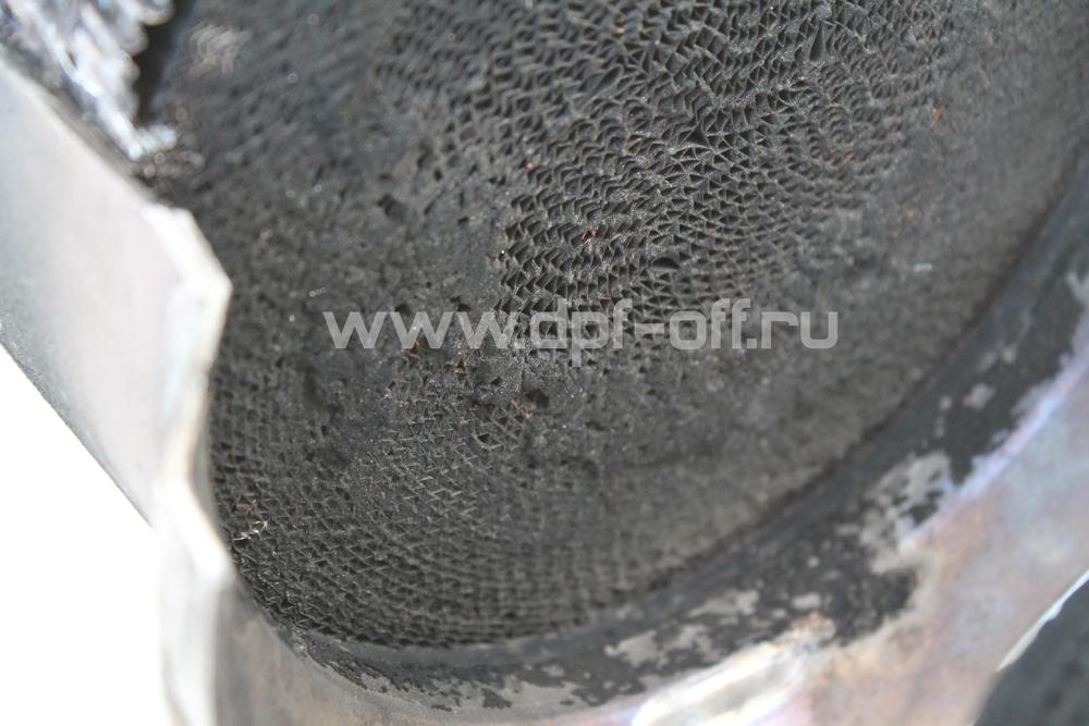 Удаление сажевого фильтра на Fuso Canter 5.0d / Фусо Кантер 5.0 дизель