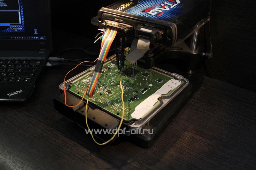 Удаление сажевого фильтра на Infiniti QX70d / Инфинити QX70 дизель