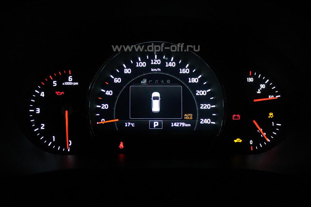 Удаление сажевого фильтра на Kia Sorento Prime 2.2 crdi / Киа Соренто Прайм 2.2 дизель