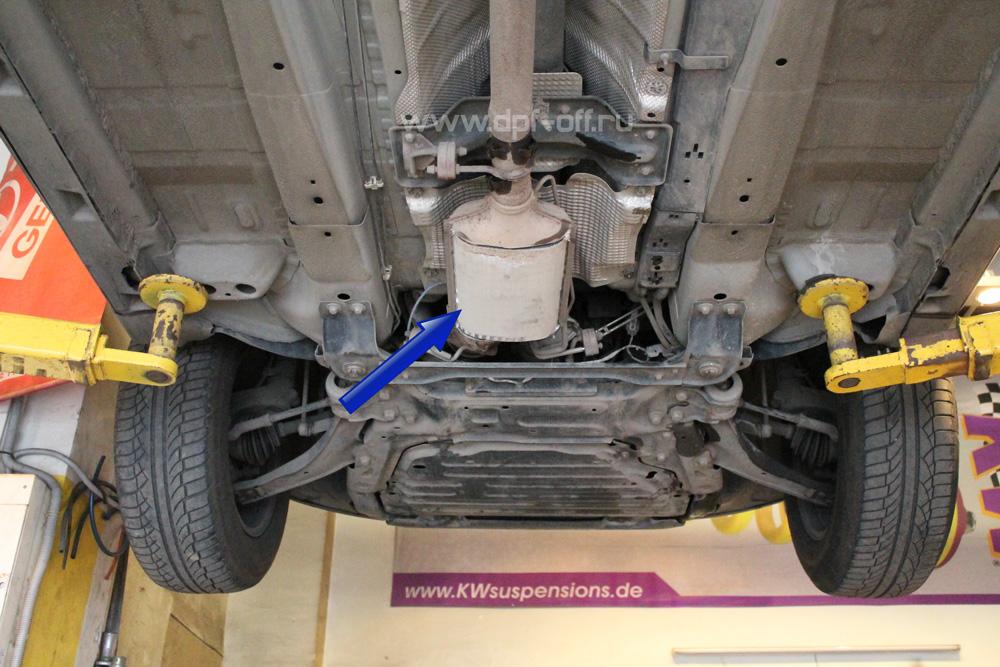 Удаление сажевого фильтра на Land Rover Freelander 2.2 TD4 / Ленд Ровер Фрилендер 2.2 дизель