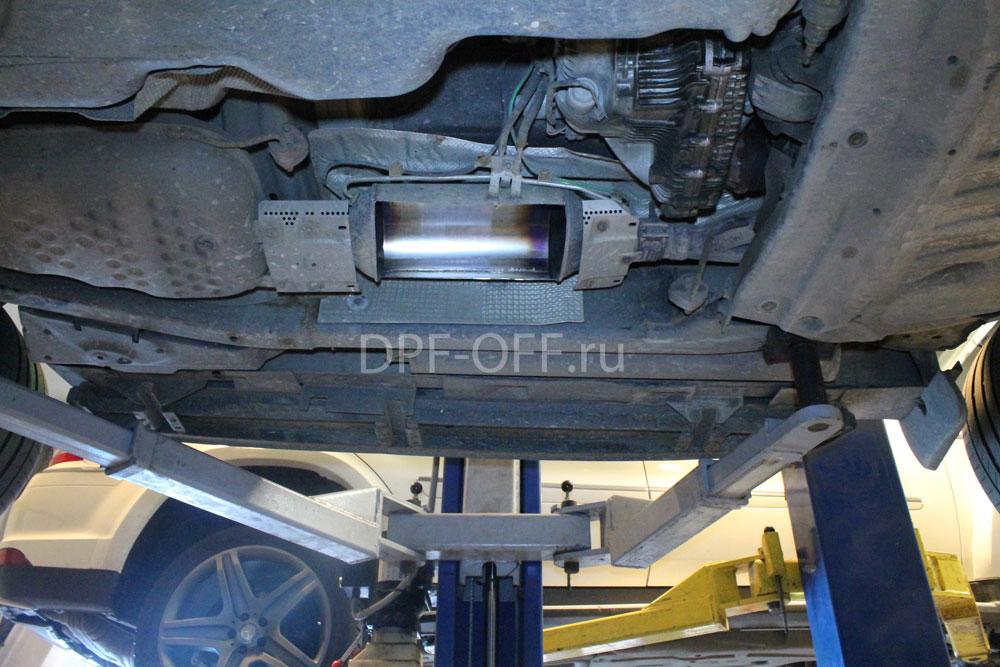Удаление сажевого фильтра на Range Rover Sport 3.0 tdv6 / рендж ровер спорт 3.0 дизель