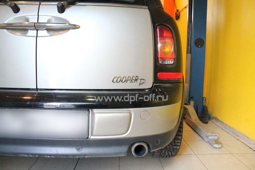 Удаление сажевого фильтра на Mini Cooper D 1.6d / Мини Купер Д 1.6 дизель