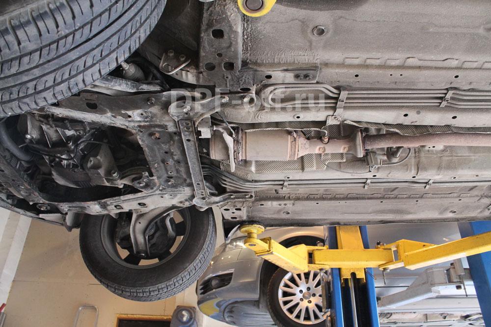 Удаление сажевого фильтра на Nissan Qashqai 1.5dci / Ниссан Кашкай 1.5 дизель