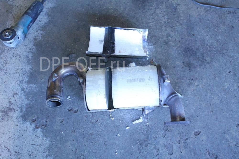 Удаление сажевого фильтра на Opel Insignia 2.0 CDTI / Опель Инсигния 2.0 дизель
