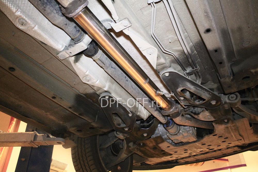 Удаление сажевого фильтра на Opel Insignia 2.0 cdti biturbo / опель инсигния 2.0 дизель битурбо