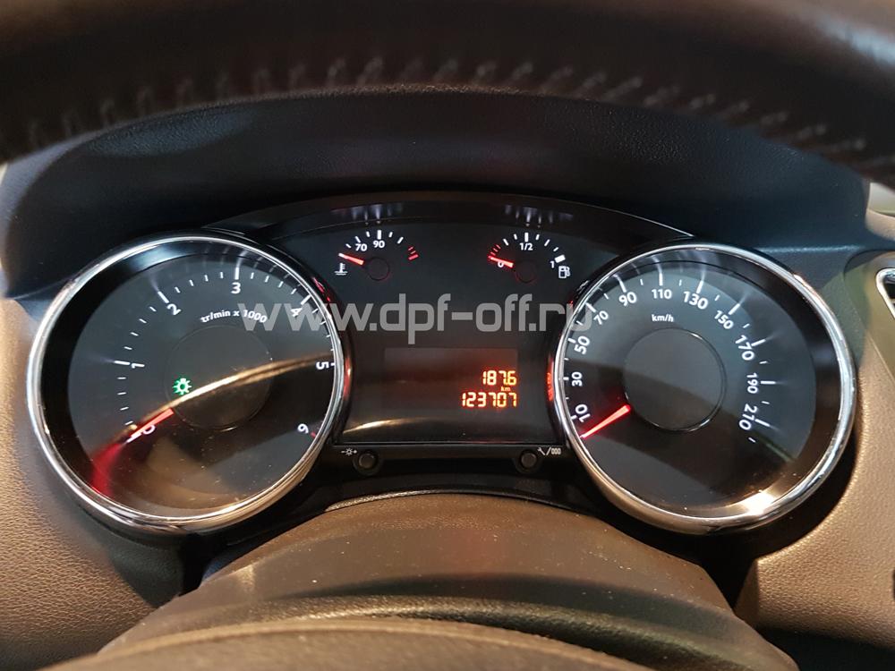 Удаление сажевого фильтра на Peugeot 5008 1.6 hdi / Пежо 5008 1.6 дизель