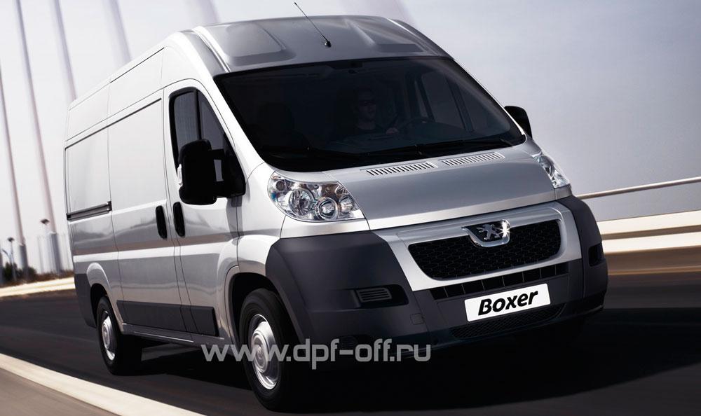 Новости про удаление сажевого фильтра и отключение клапана ЕГР на Peugeot Boxer 2.2 HDI