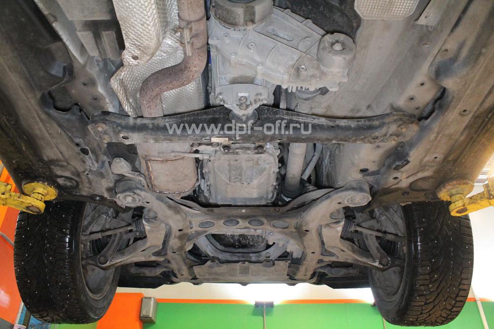 Удаление сажевого фильтра на Porsche Cayenne 3.0 TDI / Порше Кайенн 3.0 дизель